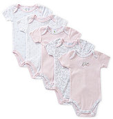 Starting Out Baby Girls Newborn-6 Months Bird Bodysuit 5-Pack