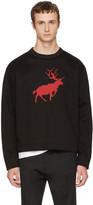DSQUARED2 Black Reindeer Techno Sweatshirt