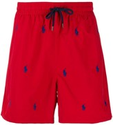 Polo Ralph Lauren repeat logo swim shorts