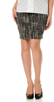A Pea in the Pod Secret Fit Belly A-line Maternity Skirt