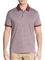 Michael Kors Shadow Stripe Cotton Polo