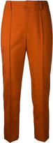Le Ciel Bleu Neo tapered trousers - women - Wool - 32