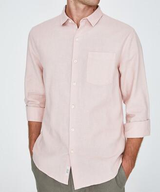 Arvust Grover Long Sleeve Shirt Blush Pink