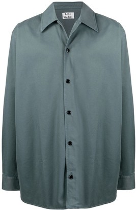 Acne Studios Boxy Fit Twill Shirt