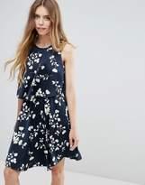 Vila Floral Tiered Dress
