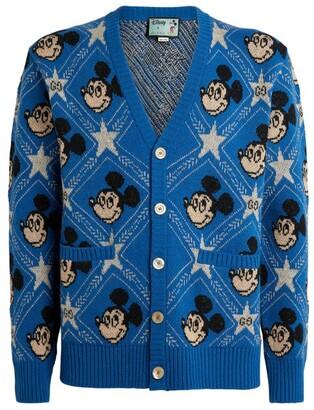 Gucci + Disney Mickey Mouse Cardigan