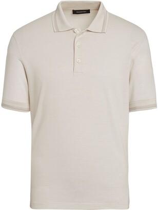 Ermenegildo Zegna Silk-Cotton Polo Shirt
