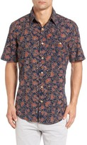 Faherty Men's Coast Print Sport Shirt