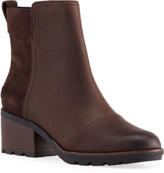 Sorel Cate Waterproof Side-Zip Ankle Boots