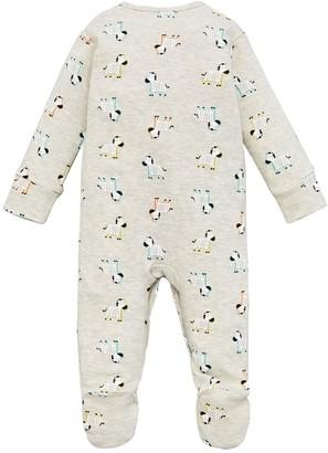 Very Baby Unisex 3 Pack Sleepsuits - Multi