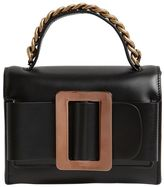 Boyy Fred Brushed Leather Bag W/ Chain Detail