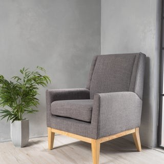 Christopher Knight Home Aurla Mid-Century Fabric Accent Chair