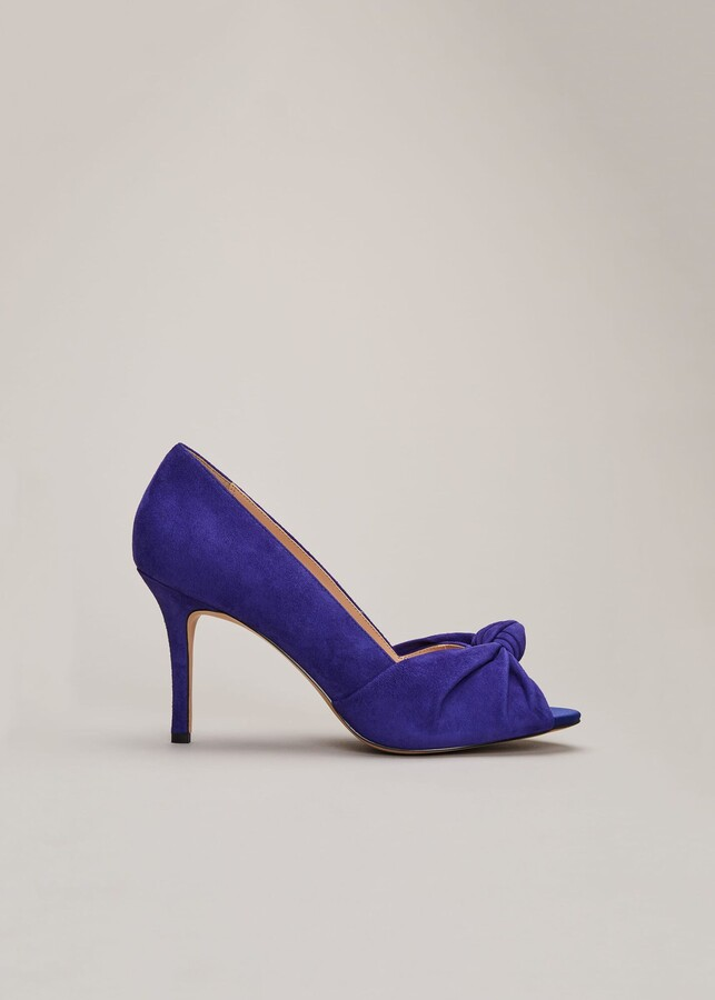 Phase Eight Sonja Knot Front Peep Toe Shoe