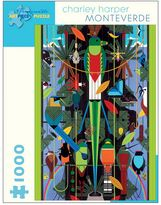 "Pomegranate Charley Harper ""Monteverde"" 1,000-pc. Jigsaw Puzzle"