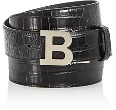 Bally B Buckle Reversible Belt