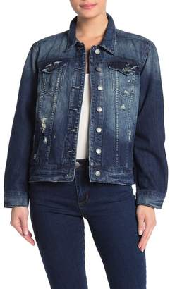STS Blue Oversized Distressed Boyfriend Denim Jacket