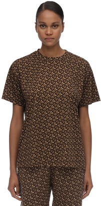 Burberry Printed Techno T-shirt