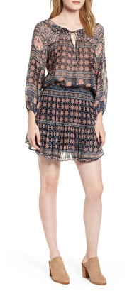 Velvet by Graham & Spencer Monaco Print Minidress