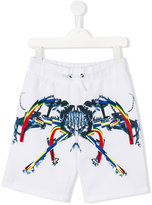 Marcelo Burlon County Of Milan Kids printed shorts