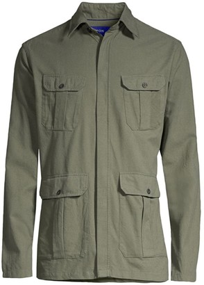 Eton Flannel Cargo Jacket
