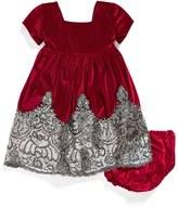 Isabel Garreton Sequin Velvet Dress (Baby Girls)