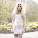 We Are Hairy People Hand Painted Pants Party Mini Dress