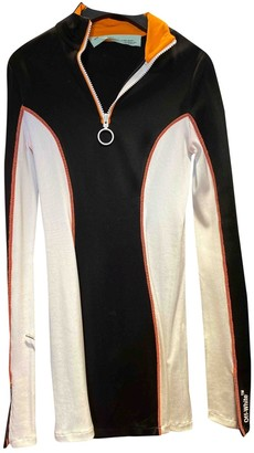 Off-White Black Viscose Dresses