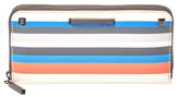 Rebecca Minkoff Ava Stripe Zip Around Wallet