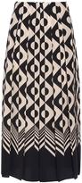 Gucci Geometric Print Midi Skirt