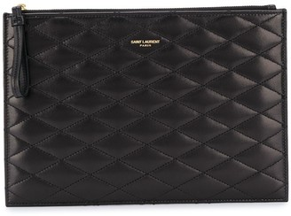 Saint Laurent Sade quilted pouch