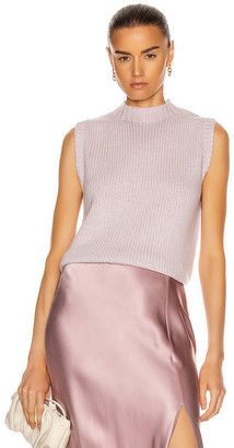 SABLYN Aiden Crop Knit Top in Lilac | FWRD