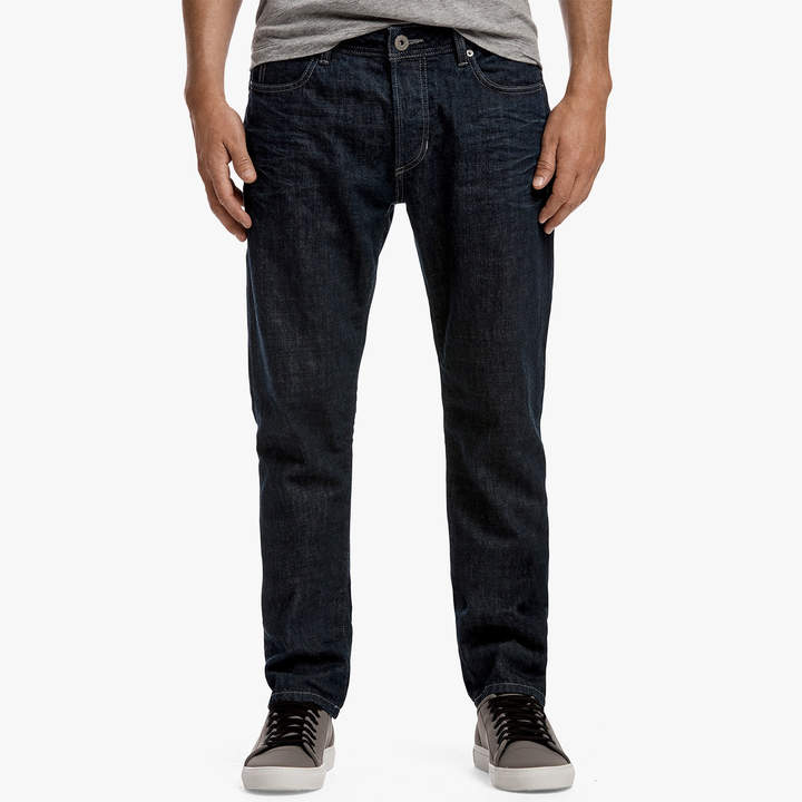 James Perse RELAXED FIT RAW DENIM JEANS