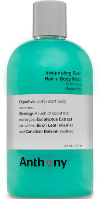 Anthony Logistics For Men Invigorating Rush Hair & Body Wash