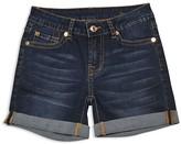 7 For All Mankind Girls' Roll Cuff Shorts - Big Kid