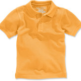 Nautica Boys' Husky Short-Sleeve Uniform Polo