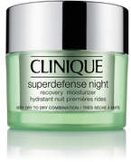 Clinique Superdefense Night Recovery Moisturizer 50ml (Skin Types 1/2)