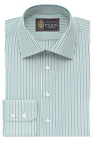 Thomas Pink Lions Macmine Stripe Slim Fit Button Cuff Shirt