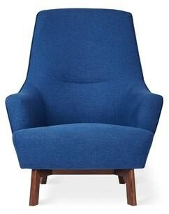 Hilary Armchair Gus* Modern Upholstery Color: Stockholm Cobalt