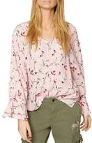 Sanctuary Posey Bell-Sleeve Blouse