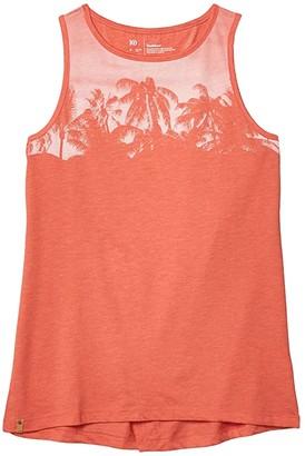 tentree Palm Classic Tank (Burnt Sienna Orange Heather) Women's Clothing