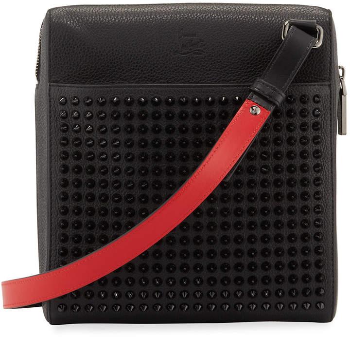 fe177c43b84 Men's Benech Studded Crossbody Briefcase