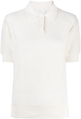 HUGO BOSS Knitted Polo Top