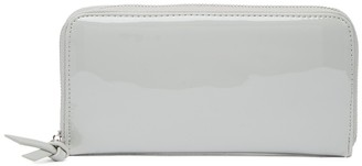 Urban Expressions Patent Vegan Leather Continental Wallet