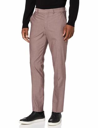 Selected Men's Slhslim-mylologan Red TRS B Noos Suit Pants