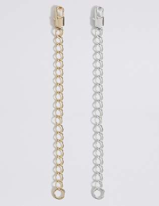 M&S CollectionMarks and Spencer Gold & Silver Plated Necklace Extenders