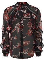Nicholas French Floral Shirt