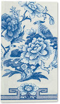 Caspari NEW Blue And White Guest Towel 15pce