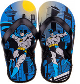 Disney Boys' Sandals Blue - Batman Flip-Flop - Boys