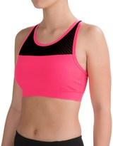 90 Degree by Reflex Mesh-Strap Sports Bra - Racerback (For Women)