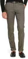 Ralph Lauren Custom-fit Tick-weave Trouser
